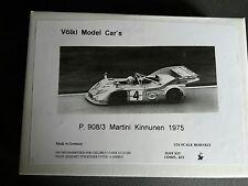 1/24 Völkl Classic Cars  Porsche 908/3 Turbo 1975  Static Kit Modellbausatz Neu