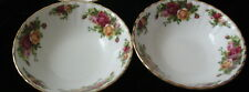 """2 Royal Albert Old Country Roses 6"""" Cereal Bowls New with Tags"""