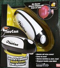 Toucan Hands-Free Can Opener (Nib)