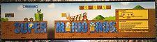 """Super Mario Bros Arcade Marquee 22.3""""x5.8"""""""