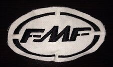 Set of 2 - FMF Patch - White/Black