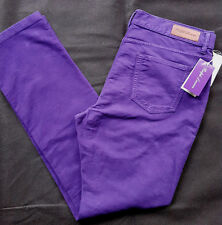 Ralph Lauren Purple Label 5 Pocket Pant Purple Made in Italy talla 36/34