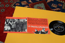 "7"" LA BANDA CASAROLI ORIG ITALY '60 FLEX DISC EX GATEFOLD COVER"