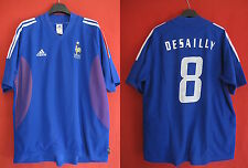 Maillot Equipe de FRANCE 2002 / 03 Adidas Desailly Vintage Rare - XL