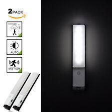 Rechargeable Lampe Veilleuse LED avec Détecteur de Mouvement Sans Fil Lot de 2