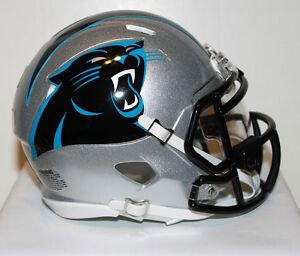 Cam Newton Carolina Panthers Speed Riddell Mini Helmet w/ visor