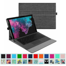 For 12.3'' Microsoft Surface Pro 7 2019/ Pro 6 2018 Blutooth Keyboard Case Cover