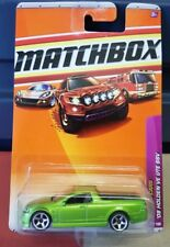 Matchbox 2010 - Holden Commodore VE SSV Ute - Green [Long Card VHTF]