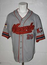 EUC NLBM Kansas City Monarchs Negro League Baseball Jersey Sz XL