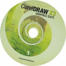 Coreldraw X3 software(Disk)