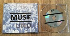 MUSE - Uno *MaxiCD* 3-Tracks UK *RAR* Minimax CD + Flyer