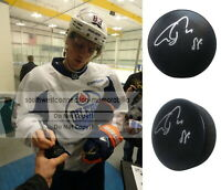 Ales Hemsky Dallas Stars Oilers Senators Signed Autographed Hockey Puck Proof