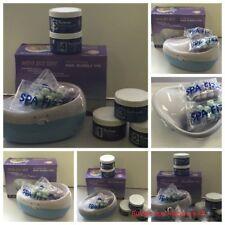 Manicure Pedicure kit plus Manicure Bowl Spa Bubble Jet System foot paddle +