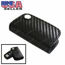 Black 3D Carbon Fiber Smart Remote Key Fob For BMW 1 3 5 6 X3 X5 X6 Series &more