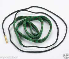 Tactical Brass Rope Boresnake Rifle .22cal .223 5.56mm Gun Cleaning Bore Snake
