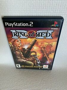 Ring of Red (Sony PlayStation 2, 2001) Complete PS2