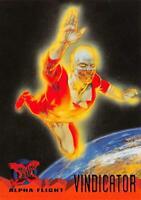 VINDICATOR / X-Men Fleer Ultra 1995 BASE Trading Card #57