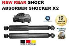 FOR RENAULT ESPACE MPV 2.0i 3.0i 1.9DTi 96-02 NEW REAR SHOCK ABSORBER SHOCKER X2