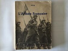 L'ARMEE FRANCAISE LA FRANCE VIVANTE ILLUSTRE  1935