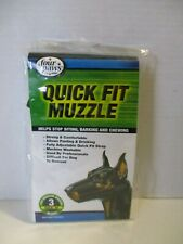 FOUR PAWS - Quick Fit Muzzle for Dogs - Size 3 Medium