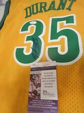KEVIN DURANT SIGNED SUPERSONICS ROOKIE JERSEY JSA COA , VERY RARE $$$$$$$