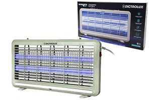 Zanzariera Elettrica Da Esterno Mosquito LED 6W fulmina zanzare insetti 809605