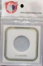 """CAPITAL PLASTICS: """"VPXSG"""" 3-1/2X3-1/2"""" ST.GAUDENS COIN DISPLAY W/FREE SHP."""