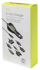 Mini USB en Chargeur Voiture Pour GPS Satnavs etc + Micro USB & 5 autres Conseils FREE POST