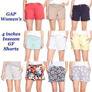 GAP WOMEN'S 4 INCHES INSEAM GIRLFRIEND SHORTS Size 2 -16