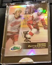 2002-03 eTopps Factory Sealed Detroit Red Wings RC Henrik Zetterberg Card #41