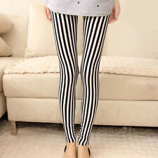 black and white striped leggings,stripe leggings,fashion leggings,sexy leggings