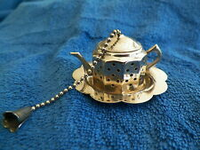 VNTG ENGLISH  TEA INFUSER & TRAY