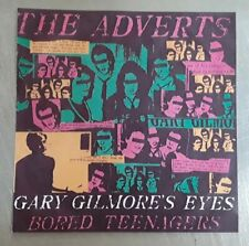 THE ADVERTS GARY GILMORE'S EYES 45RPM REPRODUCTION PICTURE SLEEVE ONLY