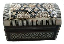 Egyptian Mother Of Pearl Tomb Royal Jewelry Box - Egyptian Collectible