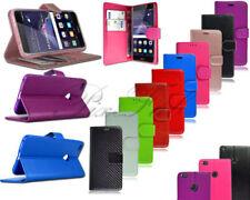 Fundas con tapa Para Huawei P8 lite color principal negro para teléfonos móviles y PDAs