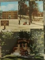 2 vintage postcards of Elmira College, Elmira, NY