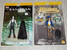 Sandman & Zatanna DC DIRECT FIGURE LOT Mages Mystics & Magicians 2000