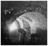 PHOTO 26 MINING SCENE INSIDE  OF CANNOCK CHASE COAL MINE STAFFORDSHIRE c1890