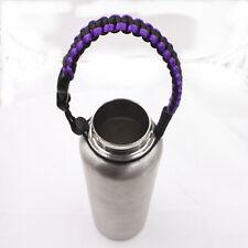 2017 new 1pcs best Water Bottle Handle for  paracord  bracelet purple black