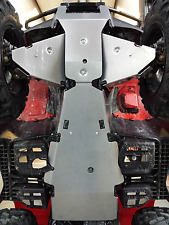 Honda RANCHER 420 Straight Axle 14-18 Full Belly Skid Plate-2 pc-Skids