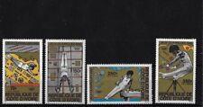 IVORY COAST SG642/5, 1980 OLYMPICS MNH