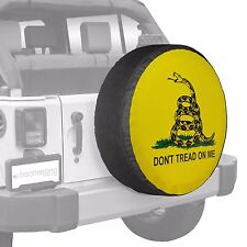 "27"" Don't Tread On Me -  Tire Cover - Boomerang -Wrangler - USA"