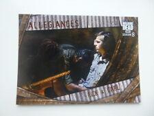 The Walking Dead Season 8 Allegiances Card Rick & Carl A-8 Walmart Exclusive