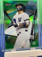 Gleyber Torres 2020 Topps Finest Green Refractor #'d/99 New York Yankees