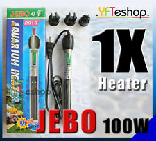 NEW JEBO 100W Aquarium submersible Heater 100 Watts Fish Tank