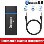 Bluetooth Transmitter 5.0 Audio Adapter For TV PC Headphones 3.5 MM Jack AUX