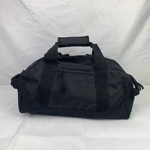 LL BEAN Adventure Men's Black Nylon Duffle Travel Sport Bag 20 inch