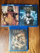 The Hobbit collection. 3D/2D Blu-ray/DVD 5 Disc Trilogy Movies Collection