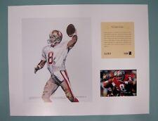 San Francisco 49ers STEVE YOUNG 1994 NFL Football 11x14 Lithograph Print