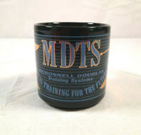 Vintage McDonnell Douglas Training Systems Coffee Mug Black MDTS Aviation